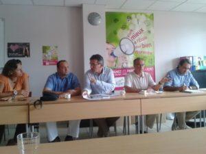Conférence de presse du collectif Sauvons l'ecole 2014