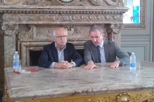 Erik Orsenna et Jean Luc Moudenc