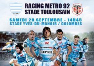 Racing Stade toulousain 2014