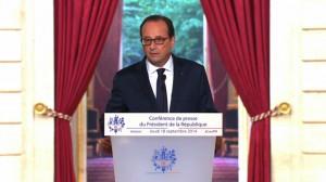 ChristopheBorgel: «François Hollande a assumé le redressement de notre économie»