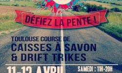 La Toulouse Course de Caisses à Savon est de retour pour sa deuxième édition les 11 et 12 Avril à Pech David