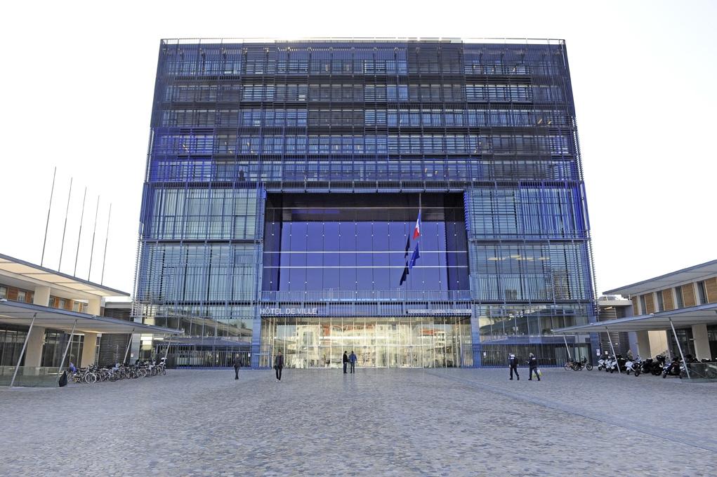hôtel de ville de Montpellier C : ville de Montpellier