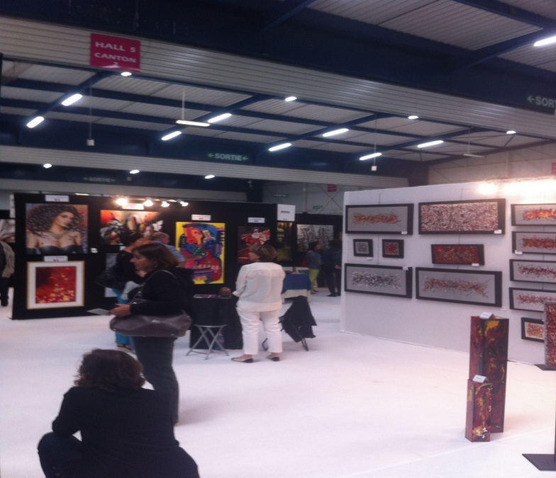Salon d art contemporain 150 artistes d couvrir jusqu for Salon international d art contemporain toulouse