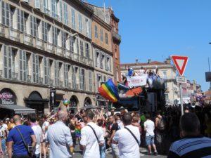 La préfecture septique à l'idée d'une manifestation LGBTQI au centre de Toulouse Photo archives : toulouse infos