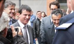 Bernard Cazeneuve et Manuel Valls dans notre région
