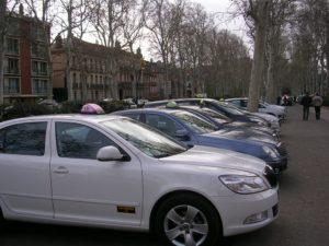 Les taxis demandent plus de sécurité Photo : Toulouse Infos