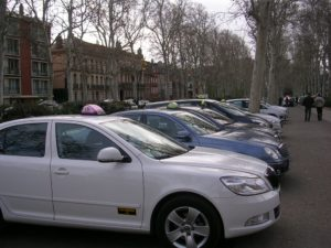 Gréve taxis Photo : Toulouse Infos