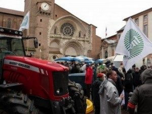 Agriculteurs Manifestations Illustration Toulouse Infos