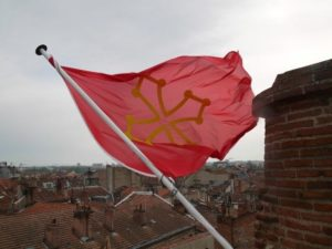 Drapeau Occitan Photo : Toulouse Infos