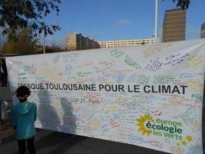 Fresque pour le climat Toulouse CEELV