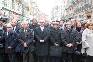 Hommage victimes Merah Toulouse Photo : Toulouse Infos