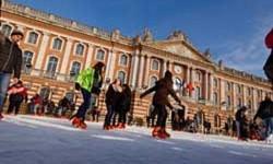 La patinoire revient place du Capitole