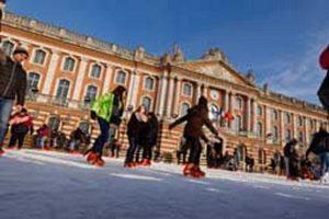 La patinoire revient place du Capitole Cville de Toulouse ParticeNin/dr
