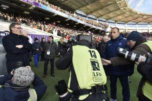 Laurent Blanc au Stadium CCteampicspsg/dr