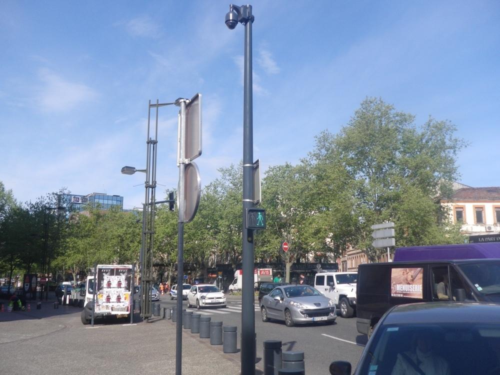 Caméra Vidéoprotection Photo: Toulouse Infos