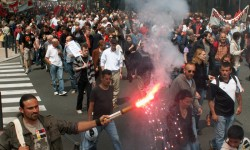 Les syndicats dans la rue contre la loi Travail