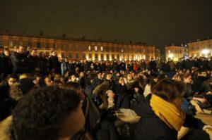 Nuit Debout Illustration photo/Twitter Nuit Debout/dr