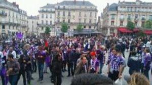 Les groupes de supporters du TFC se mobilisent pour la venue de l'OM Photo : Toulouse Infos