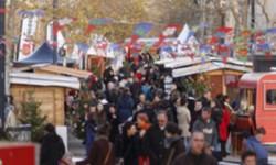 Marché artisanal et solidaire aux allées Jules Guesde