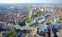 La Tour d'Occitanie, une signature architecturale au cœur du futur quartier d'affaires de Matabiau
