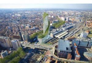 Avis favorable pour la Tour Occitanie, futur gratte-ciel de Toulouse CCompagnie de Phalsbourg.