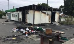 Les locaux du club de football de Saint-Simon ravagés par un incendie