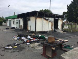 Les locaux du club de football de Saint-Simon ravagés par un incendie Cfoot saint-simon
