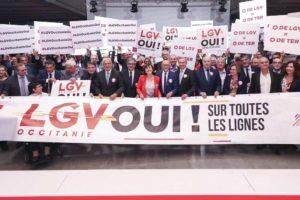 LGV Occitanie Oui !  CLydie Lecarpentier - Région Occitanie