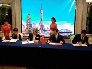 Toulouse Métropole et l'Aéroport Toulouse Blagnac en Chine pour la création d'une ligne directe Toulouse-Chine dr