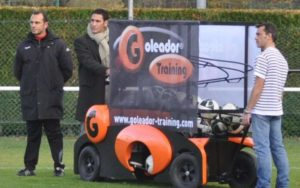La machine à centrer « Goleador Training » arrive au TFC cdr