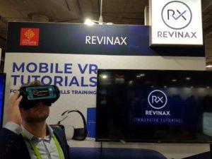 Maxime Ros de Revinax au CES de Las Vegas
