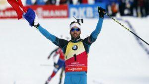 Martin Fourcade au sommet de l'Olympe dr