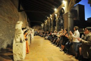 À Toulouse, des étudiants font visiter le musée des Augustins Mairie de Toulouse _ photo J.Hocine