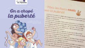 Jugé sexiste, le livre «On a chopé la puberté» des éditions Milan ne sera pas réimprimé C édtionsmilan/dr