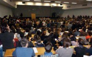 Université Jean-Jaurès : les étudiants grévistes en marche dans Toulouse cdr