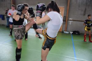 Les femmes s'imposent en force sur le ring au Nakitail Fighting Club