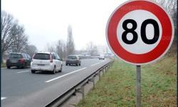 Limitation à 80 km/h à partir du 1er Juillet