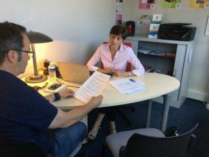Lydia Duflot dirige la nouvelle agence « Vivaservices Toulouse Nord » Photo : Toulouse Infos