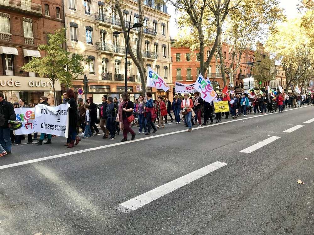 Toulouse. Le rectorat bloqué par des enseignants grévistes