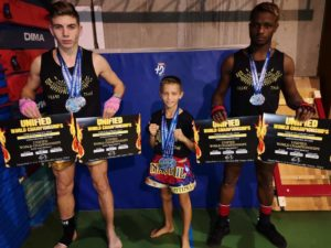 Belle moisson de médailles pour les champions du Nakitail Fighting Club
