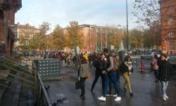Les lycéens et les étudiants dans la rue ce mardi à Toulouse