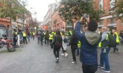 Un photographe de presse blessé par une grenade lors de la manifestation des gilets jaunes à Toulouse