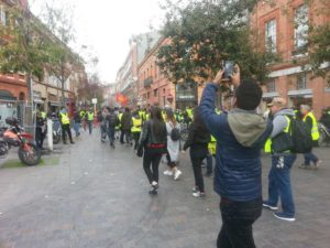 Gilets jaunes : L'Acte 9 à Toulouse   Photo archives : Toulouse Infos
