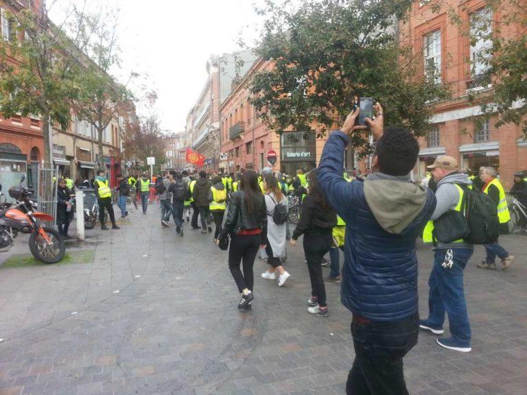 Toulouse. Premier anniversaire des Gilets jaunes ce week-end Photo archives : Toulouse Infos