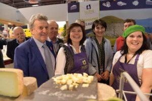Carole Delga a démontré l'engagement de la Région pour soutenir ses agriculteurs  C Antoine Darnaud - Région Occitanie