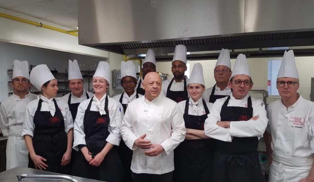 Inauguration de l'école toulousaine du chef Thierry Marx Photo cuisinemodemplois.com/dr