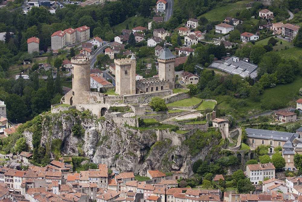 Le château de Foix rouvre ses portes sites touristiques-ariege.fr/dr