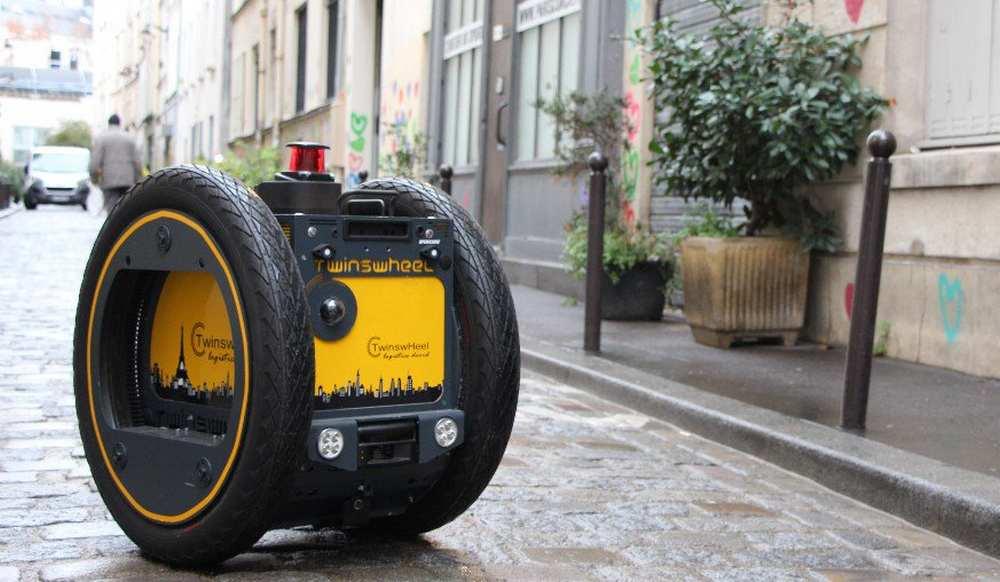 Montpellier. Un robot porte le courrier pour les facteurs