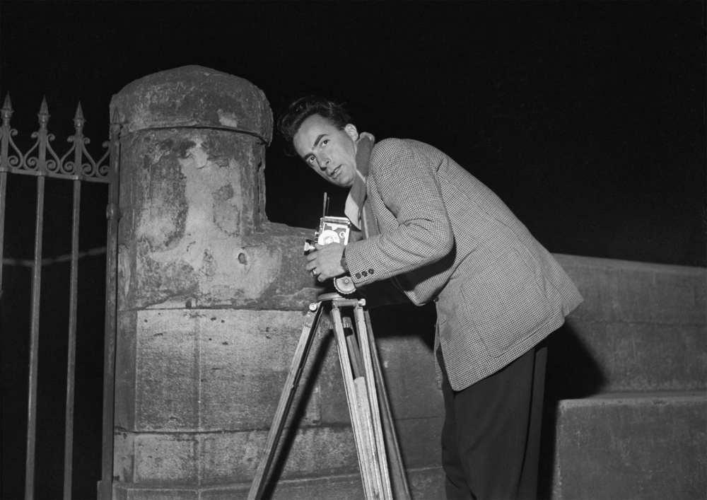 Jean Dieuzaide 1952 Photo : André Cros - Mairie de Toulouse, Archives municipales/dr