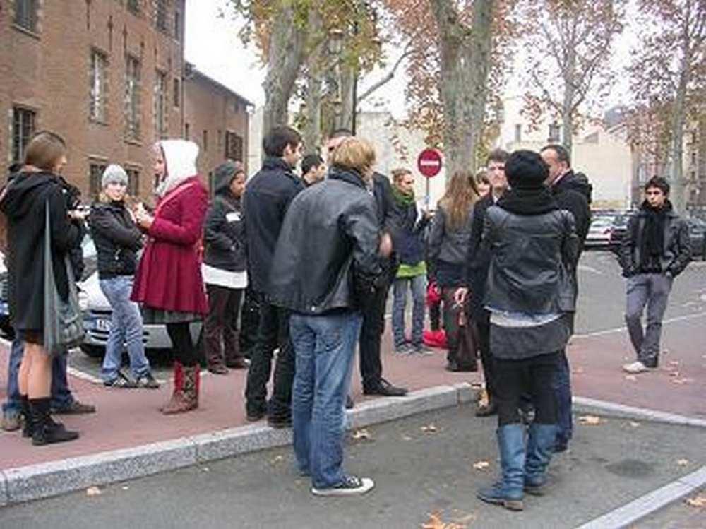 Toulouse. Les étudiants au soutien du jeune qui s'est immolé à Lyon  Archives : Toulouse Infos